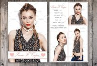 Free Comp Card Template Brochure Templates For Mac Microsoft In Model Comp Card Template Free