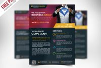 Free Corporate Business Flyer Template Psd – Uxfree with New Business Flyer Template Free