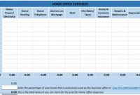 Free Excel Bookkeeping Templates in Small Business Expenses Spreadsheet Template