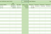 Free Excel Bookkeeping Templates inside Business Ledger Template Excel Free