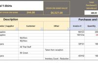Free Excel Bookkeeping Templates pertaining to Excel Accounting Templates For Small Businesses