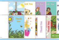 Free! – 👉 Thank You Note Card Templates (Teacher Made) within Thank You Note Card Template