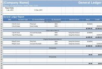 Free General Ledger Template – Download Now – Freshbooks within Business Ledger Template Excel Free