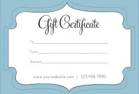 Free Gift Certificate Template For Mac Pages Download intended for Nail Gift Certificate Template Free