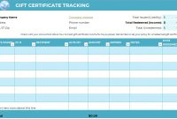 Free Gift Certificate Templates For Massage And Spa in Gift Certificate Log Template