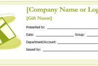 Free Gift Certificate Templates You Can Customize | Free Intended For Microsoft Gift Certificate Template Free Word