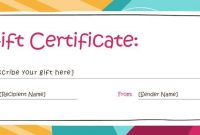 Free Gift Certificate Templates You Can Customize | Free throughout Custom Gift Certificate Template