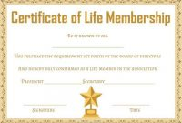 Free Membership Certificates: 14 Templates In Word Format for New Member Certificate Template