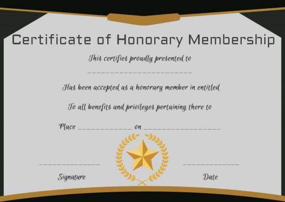 Free Membership Certificates: 14 Templates In Word Format regarding New Member Certificate Template
