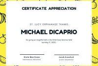 Free, Printable Appreciation Certificate Templates | Canva for Certificates Of Appreciation Template