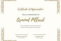 Free, Printable Appreciation Certificate Templates | Canva intended for Certificates Of Appreciation Template