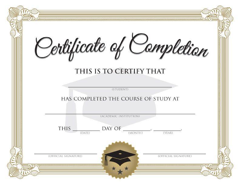 Free Printable Graduation Certificate | Big Dot Of Happiness regarding Free Printable Graduation Certificate Templates