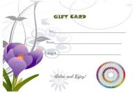 Free Printable Manicure Gift Certificate | Gift Certificate with regard to Nail Gift Certificate Template Free