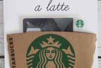 Free Printable: Thanks A Latte Coffee Gift Card   Coffee throughout Thanks A Latte Card Template