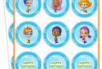 Free Printables, Bubble Guppies Jello Recipe And Nickelodeon throughout Bubble Guppies Birthday Banner Template