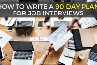 Free Proven 30-60-90 Day Plan Template For Job Interviews within Interview Business Plan Template
