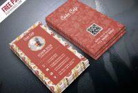Free Psd : Cake Shop Business Card Psd Templatepsd regarding Cake Business Cards Templates Free