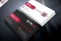 Free Psd : Corporate Modern Business Card Psd Setpsd within Modern Business Card Design Templates