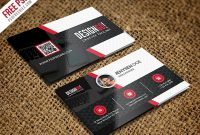 Free Psd : Creative And Modern Business Card Template Psd intended for Template Name Card Psd