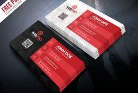 Free Psd : Creative Business Card Template Psd Bundlepsd within Creative Business Card Templates Psd