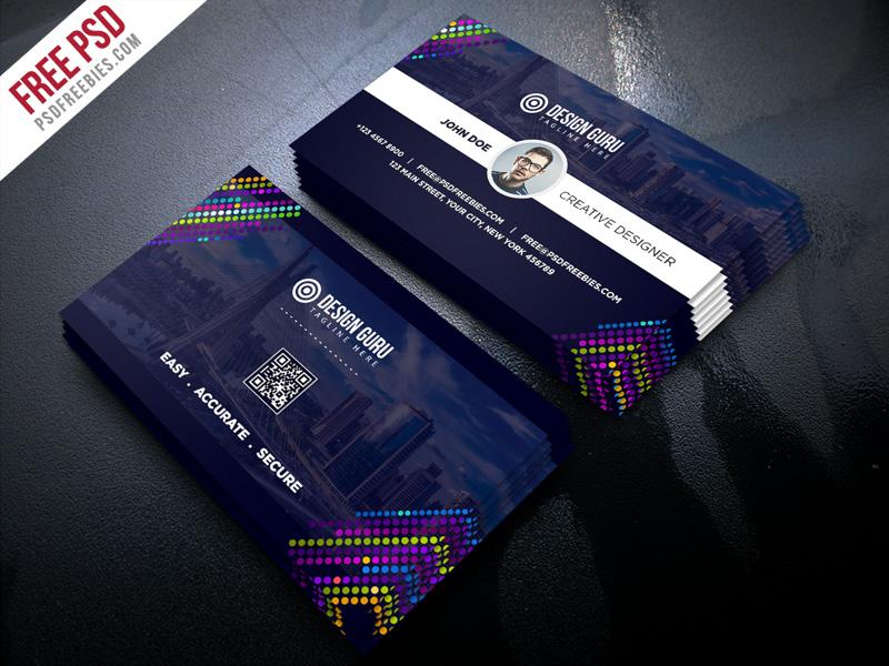 Free Psd : Creative Business Card Template Psdpsd pertaining to Creative Business Card Templates Psd