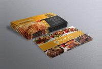 Free Restaurant Business Card Template | Free Business Cards within Restaurant Business Cards Templates Free