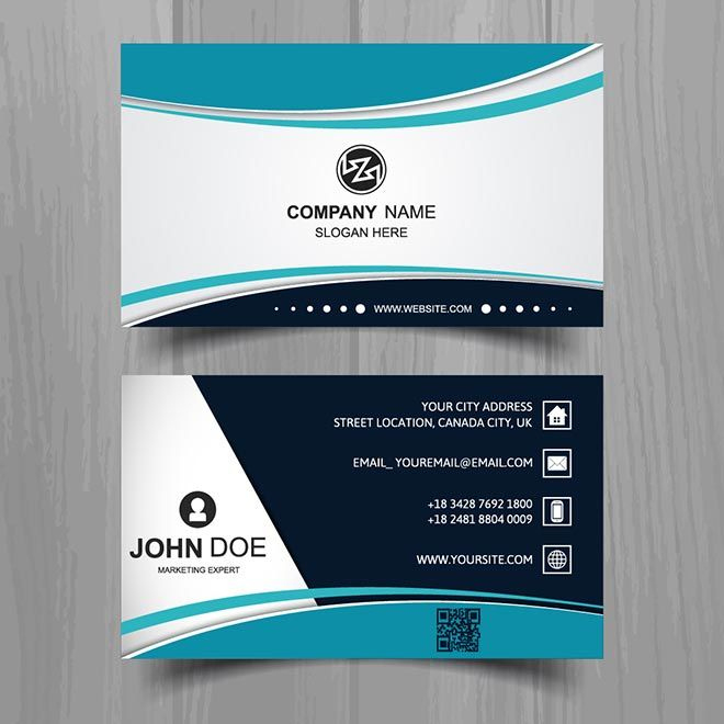 Free Vector Business Card Template – Free Vector Inside Transport Business Cards Templates Free