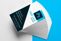 Free Vertical Business Card Template In Psd Format throughout Business Card Template Photoshop Cs6