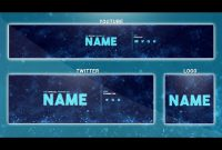 Free Youtube Banner Template | Photoshop (Banner + Logo + for Banner Template For Photoshop