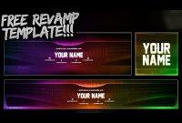 Free Youtube Banner + Twitter Header Template Psd – Free with regard to Twitter Banner Template Psd