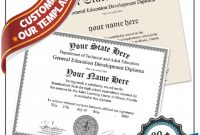 Ged Certificate Template (2 inside Ged Certificate Template