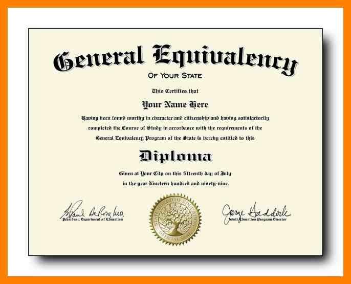 Ged Certificate Template (6 | Certificate Templates pertaining to Ged Certificate Template