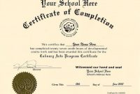 Ged Certificate Template (6) – Templates Example | Templates regarding Ged Certificate Template
