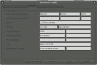 Generating Labels And Business Cards In Openoffice with Business Card Template Open Office