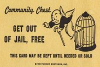 Get Out Of Jail Free Card Monopoly Blank Template - Imgflip in Get Out Of Jail Free Card Template