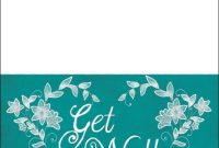 Get Well Soon Card Template | Free Printable Papercraft for Get Well Soon Card Template