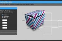 Get Your Box On   regarding Card Box Template Generator