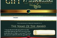 Gift Certificate Template Free Vector Download (24,414 Free with Gift Certificate Template Photoshop