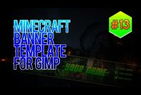 [Gimp] Youtube Banner Template #13 – Minecraft (New Style) throughout Gimp Youtube Banner Template