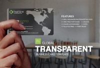 Global Transparent Business Card | Photography Business With Regard To Transparent Business Cards Template