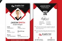 Graphic Resources For Everyone | Id Card Template, Card pertaining to Portrait Id Card Template