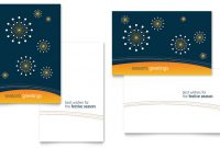 Greeting Card Templates – Word & Publisher – Free Downloads regarding Foldable Card Template Word