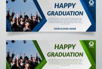 Happy Graduation Banner Template | Premium Vector in Graduation Banner Template
