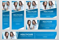 Healthcare And Medical Banner Kit Template | Premium Vector throughout Medical Banner Template
