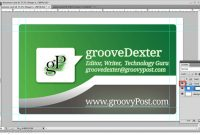 How To Make A Business Card In Photoshop in Business Card Template Size Photoshop
