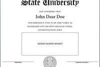 How To Make A Fake Diploma (Template And Tutorial with regard to Mock Certificate Template