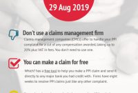 How To Reclaim Ppi For Free: Make A Quick And Easy Claim pertaining to Ppi Claim Letter Template For Credit Card