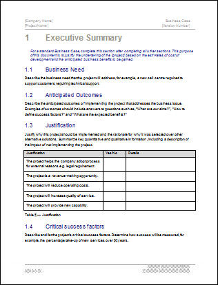 How To Write A Business Case - Reference From Caninariojana regarding Writing Business Cases Template