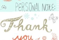 How To Write A Thank You Note | Hallmark Ideas & Inspiration throughout Thank You Note Card Template