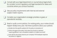 How To Write Policies And Procedures | Smartsheet regarding Small Business Policy And Procedures Manual Template